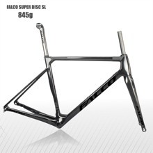 FALCO T1000 Full carbon fiber Disc Street Bike body,guarantee 2 years prime quality 160mm Disc Carbon Bicycle Body