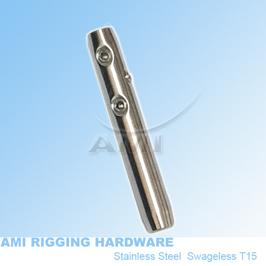 M6 RIGHT, 4mm wire, Swageless Metric thread terminal stainless ...