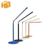 Augenschutz LED Schreibtisch Lampe 24 LEDs Einfachheit Metall Rohr Glas Basis Tisch Lampen Büro Studenten Lesen Buch Licht