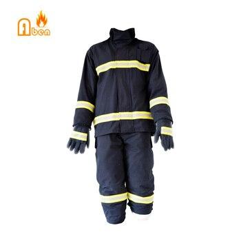 Firefighter Suit For Firefighter including helmet/gloves/boots/belt 2