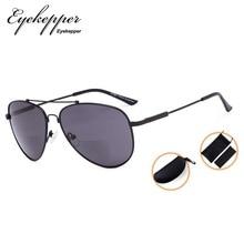 SG1804 Eyekepper бифокальные очки-полит Стиль чтения солнцезащитных очков с памятью мост и Arm