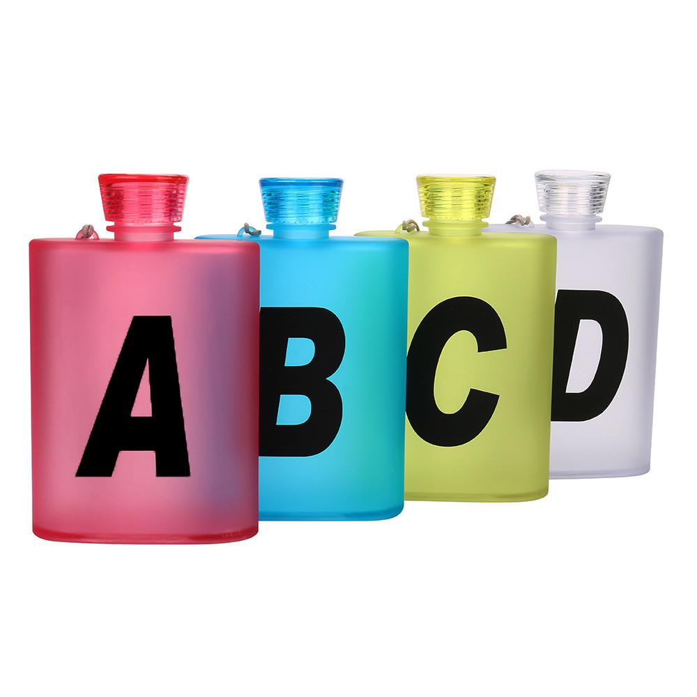 Fashion Portable Sports Water Bottle Plastic Water Creative Kettle Flagon Travel Bottle Articulos De Cocina