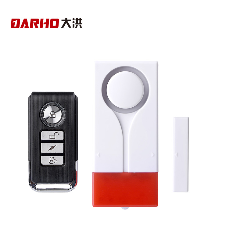 Darho 433MHz Home Security Alert Infrared Sensor 110db Window Door Sensor Monitor Wireless Security Alarm System+ Remote Control