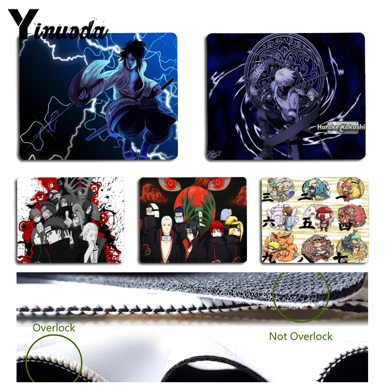 Yinuoda Naruto mouse pad gamer play mats Size for 18x22x0.2cm Gaming Mousepads ...