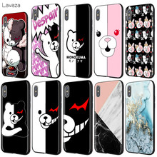 Lavaza lindo Kumamon Danganronpa Monokuma caso para iPhone 11 Pro XS Max XR 8X8 7 6 6S Plus 5 5S se(China)