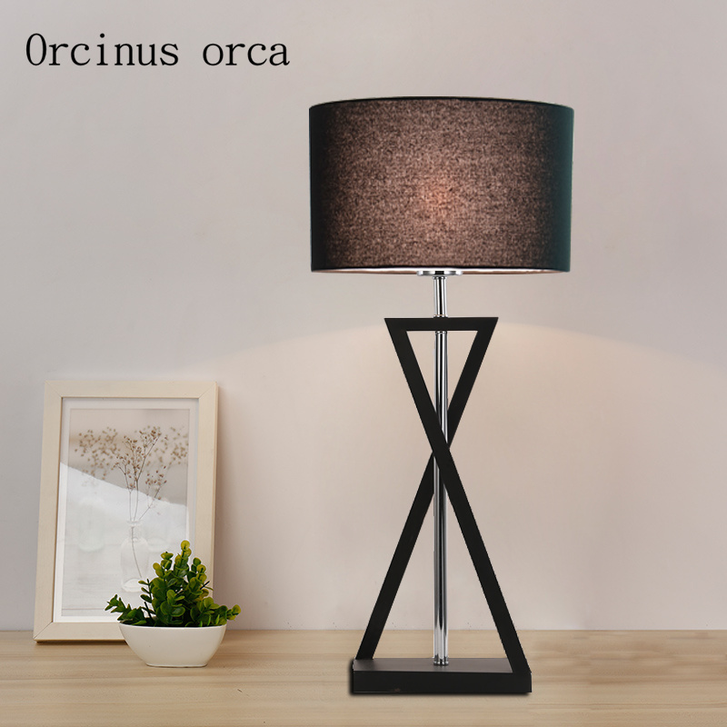 Lights & Lighting Table Lamp Bedroom Bed Personality Simple Fashion Creative Modern Living Room Study Hotel Room Warm Lamps