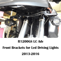KEMiMOTO For BMW R1200GS Adv LC Front Brackets for Led Driving Lights R1200GSA 2013 2016 Motorcycle Accessories