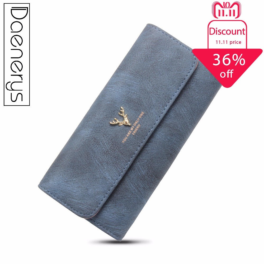 Daenerys Women Wallets Leather Wallet Zipper Coin Purse Long Ladies Wallet With Animals Card Holder Clutch With Phone Pocket baellerry 11 11 leather womens wallets coin pocket double zipper purse female long ladies phone clutch card holders wallet w049