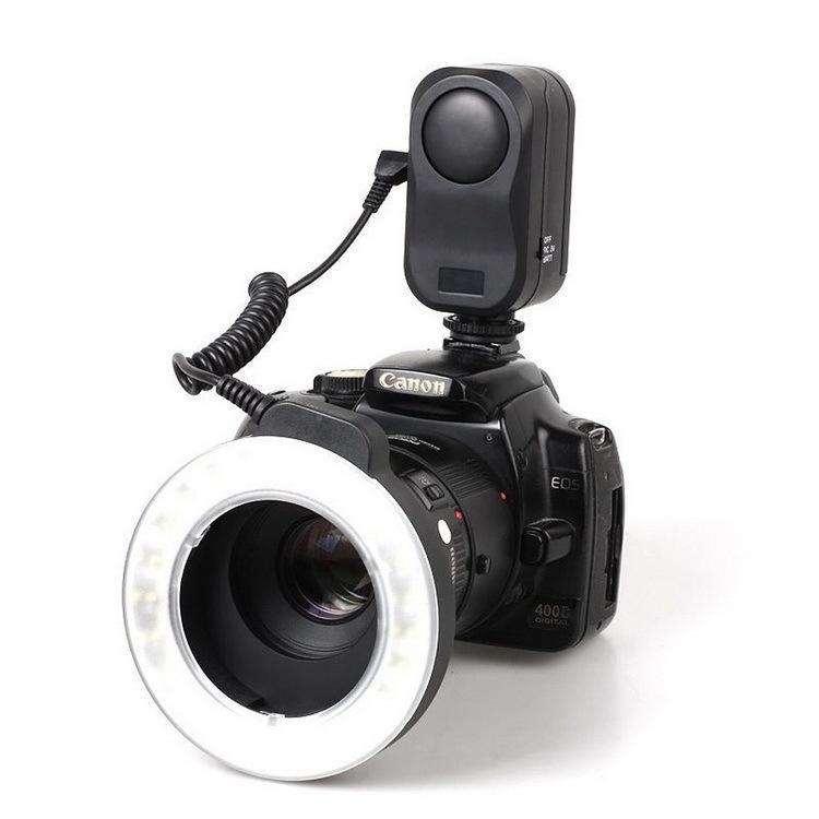 WANSEN WSLED48 makro valgustus 48 LED-videorõnga välklamp Nikon - Kaamera ja foto - Foto 3