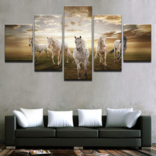 5pcs DIY Diamond Painting Running Steed Pictures Full Square Embroidery Mosaic Picture Of Rhinestone H376