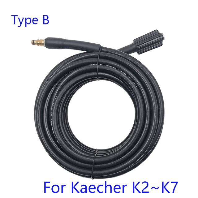 6 8 10 15 medidores de conexão rápida com a mangueira de extensão da arruela do carro arma de alta pressão da arruela que trabalha para karcher k-series 3