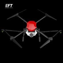 EFT E410 su geçirmez tarım püskürtme drone 1300mm dingil mesafesi uçuş platform katlanır İha Quadcopter 10KG / 10L