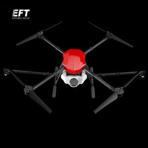 Image 1 - EFT E410 étanche drone de pulvérisation agricole 1300mm empattement plate forme de vol pliant aéronef sans pilote (UAV) quadrirotor 10KG / 10L