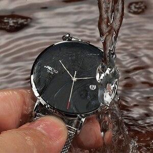 Image 5 - NIBOSI Ultra דק אופנה גברים שעון יוקרה למעלה מותג עסקים קוורץ שעונים עמיד למים ספורט שעון גברים שעון Relogio Masculino