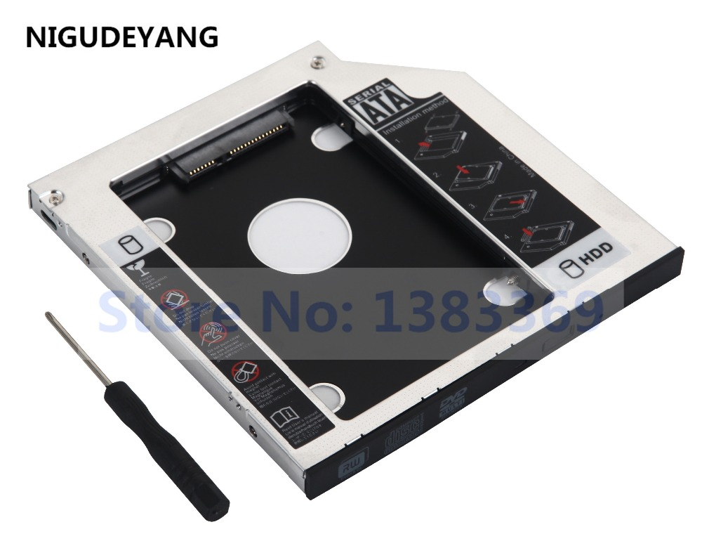 2nd SSD HDD Hard Drive Enclosure Caddy for Acer Aspire E15 ES1-511-C50C ES1-512