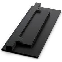 Suporte vertical para xbox one s, aberturas de resfriamento embutidas e pés antiderrapantes para microsoft xbox one suporte dock para console de jogos, montagem slim