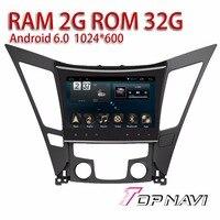Vehicle Media For Hyundai Sonata 2011 2015 9 WANUSUAL Android 6 0 Car Navigation With Free