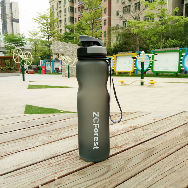 Tritan Sports Water Bottle 1000ml BPA Free My Bottle With Tea Infuser Portable Plastic For Drink Outdoors Bike Cycling ZCForest