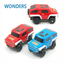 2017 kids toys alloy electric car toy for orbit track toy kids gift