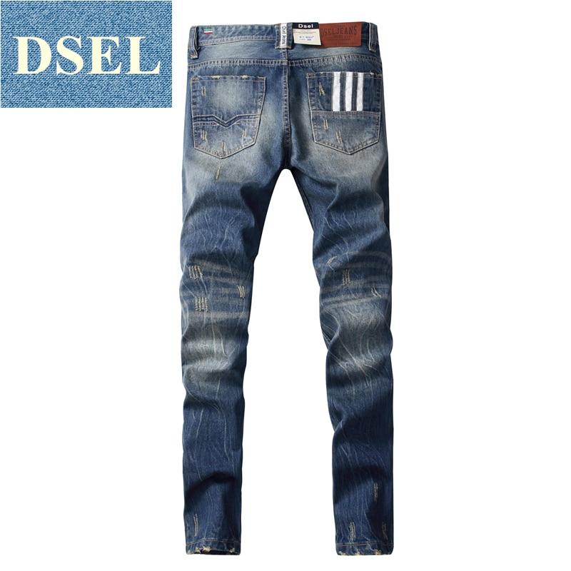 2017 fashion mid stripe jeans men slim straight denim blue jeans ripped trousers men`s original brand 3 lines jeans W9003 2017 fashion patch jeans men slim straight denim jeans ripped trousers new famous brand biker jeans logo mens zipper jeans 604