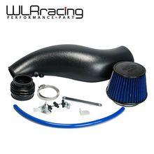 Wlring shop-kunststoff lufteinlassrohr für honda civic 92-00 ek eg mit luftfilter saugrohr nur schwarz wlr-ait11bkn