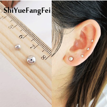 3MM 6mm Mini L Piercing Magnetic Stud Earrings Earrings Magnetic Earrings Cooling Earrings Jewelry No Piercing Clips Free  C94