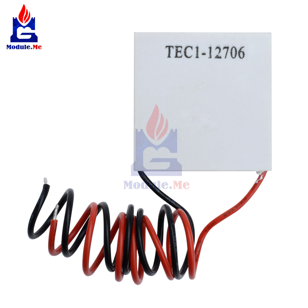 TEC1-12706 TEC112706 Heat Sink Thermoelectric Cooler Cooling Pad Peltier Plate Module DC12V 60W