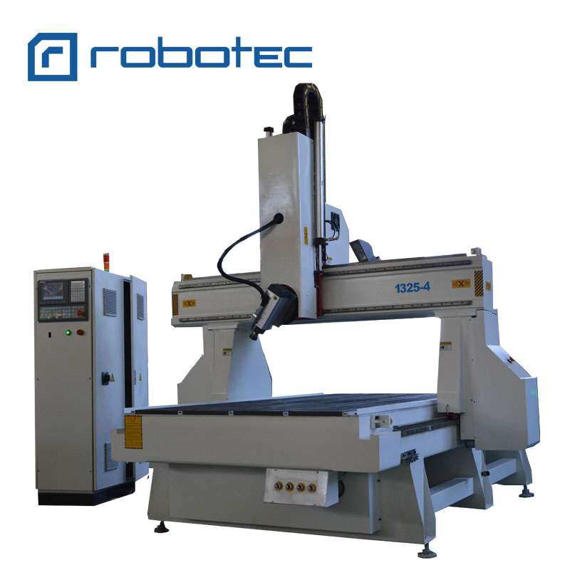 1325 China Wood Foam Car Molding 4 Axis CNC Router/5 Axis Mold Making Wood Working CNC Router Machine