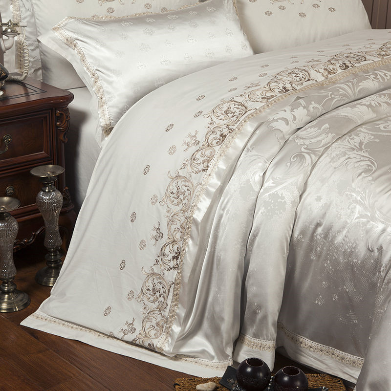luxury king size bed sheets