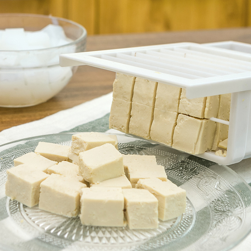 Tofu Mold Box DIY Homemade Press-Maker Plastic Soybean Curd Making Machine Tofu into cubes device Kitchen Cooking Tools
