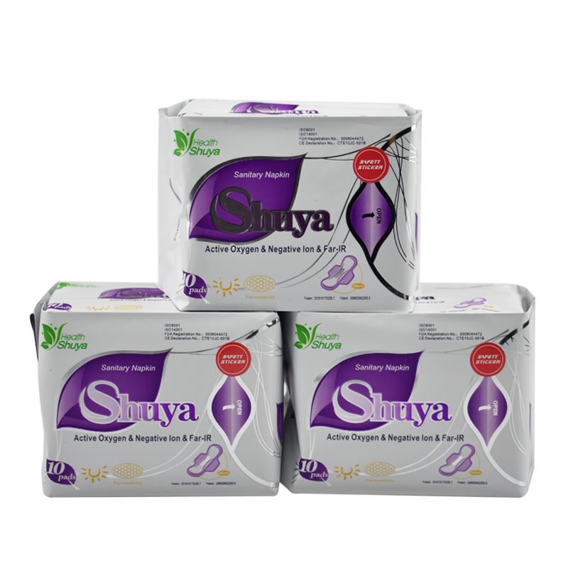 3 מארז כרית וסת אניון מוצר היגיינה נשי כותנה מפית סניטרית בריאות shuya אניון אהבת תחתונים אניה