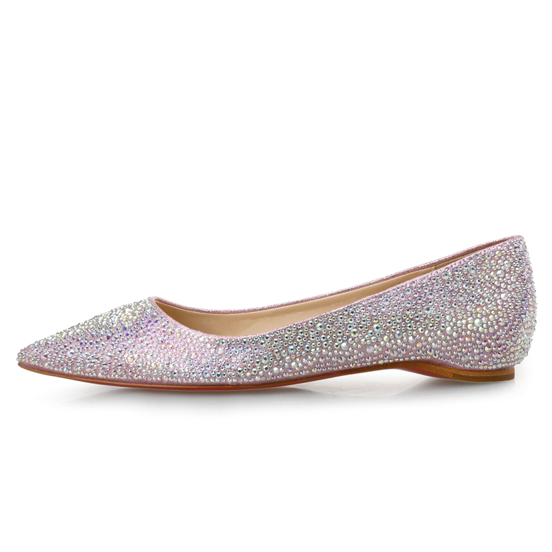 2017 Rivets Decoration Brand Shoes Flats Women Spring Autumn Fashion Womens Flats Boat Shoes Sexy Ladies Sequins Red bottom shoe new 2017 spring summer women shoes pointed toe high quality brand fashion womens flats ladies plus size 41 sweet flock t179