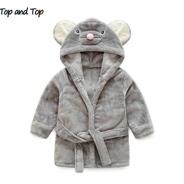 8c2b2a30fb high quality children s bathrobe Retail! girls boys clothing robes soft  velvet robe pajamas coral children dress baby clothes