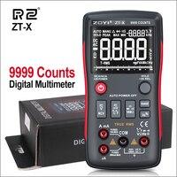 RZ Multimeters Multimeter Digital Analog Mini Multimeter Auto Range Tester Multimetro AC Current True RMS Profesional Multimeter