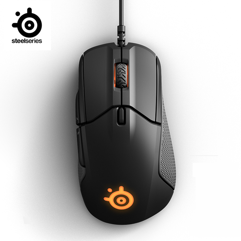 Image 2 - SteelSeries Rival 310 RGB FPS USB Optical Gaming Wired Mouse with 12000 CPI Split Trigger Buttons CS LOL CF  for  Windows Linuxwired mousemouse rivalrival mouse - AliExpress