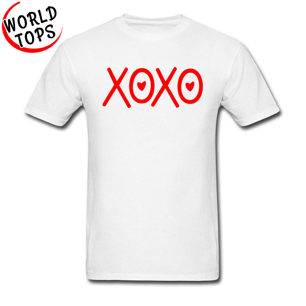 Xxxtentacion T-Shirts Red XOXO Kisses And <font><b>Hugs</b></font> <font><b>Tshirt</b></font> Women Men Videogame Styling Good Quality Brand-Clothing Shirt 100% Army image