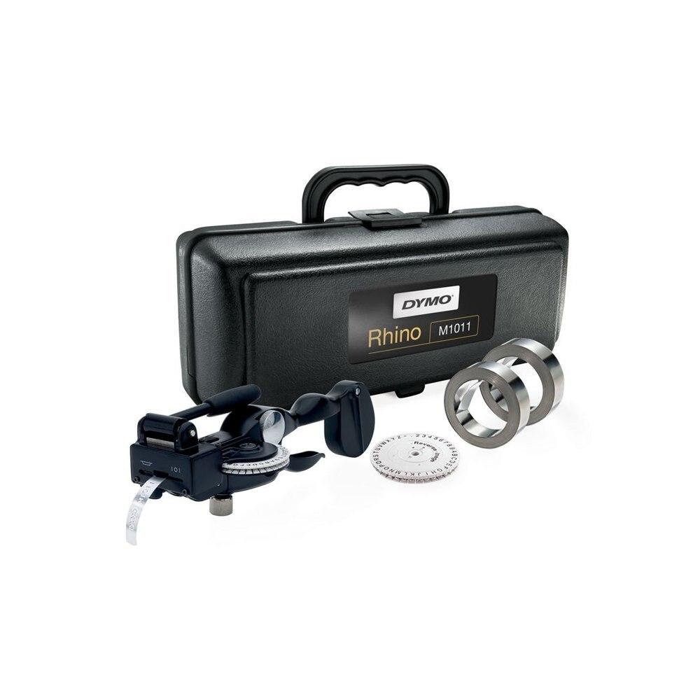 Compatible pour M1011 Étiqueteuse Dymo Étiquette Métallique Tapewriter Gaufrage Système Kit pour Dymo 3D 35800, 31000, 32500 nom étiquettes