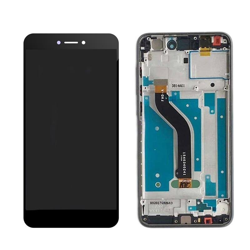Para Huawei P9 lite 2017 PRA-LA1 PRA-LX1 PRA-LX P8 Lite 2017 LCD Screen Display LCD de Toque Digitador Assembléia Sensor Quadro