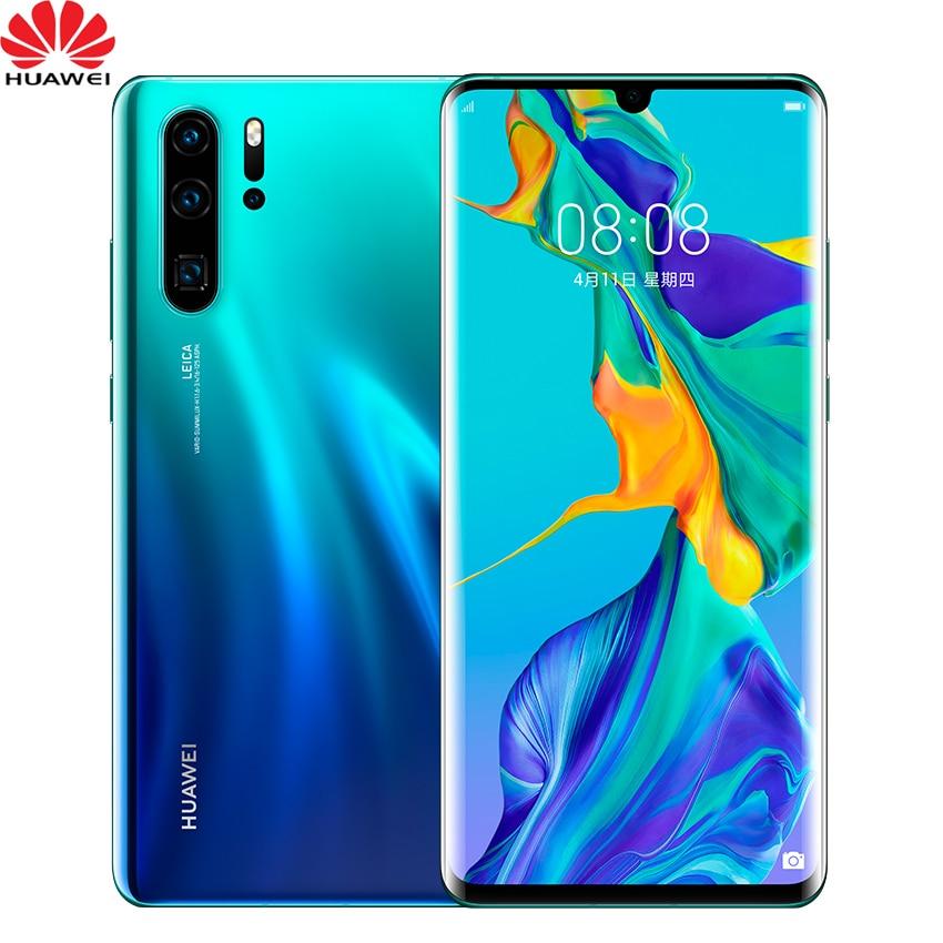Originale Huawei P30 Pro Telefono Cellulare 6.47 ''Completo di Schermo OLED FHD + Kirin 980 Smartphone NFC OTG GPS Android 9.1 Del Telefono 5 Telecamere-in Telefoni cellulari e smartphone da Cellulari e telecomunicazioni su  Gruppo 1