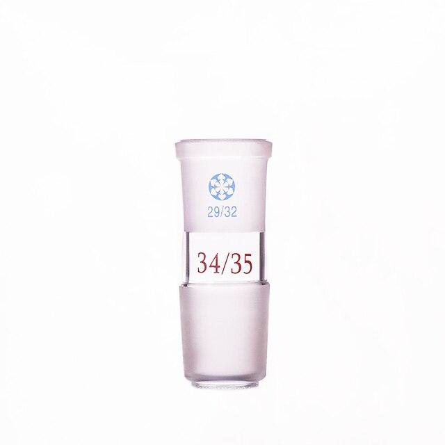 Joint en verre Borosilicate, femelle 29/32, mâle 34/35, adaptateur réducteur en verre, connecteur de type A