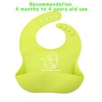 Bandana Baby Girl Bibs Cartoon Bavaglino Plain Waterproof Feeding Baby Bib Silicone Girls Animal For Newborns 504009