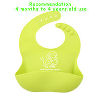 Bandana Baby Girl Bibs Cartoon Bavaglino Plain Waterproof Feeding Baby Bib Silicone Girls Animal For Newborns