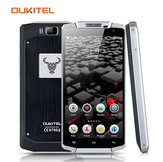Oukitel K10000 5 5 inch 1280 720 Quad Core Android 5 1 Cellphone MTK6735P 2GB RAM