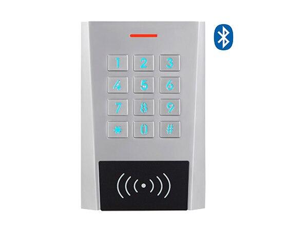 XK3 extérieur Bluetooth EM RFID contrôle d'accès de proximité lecteur de clavier support système Android et IOS pour ouvre-porte de serrure de porte