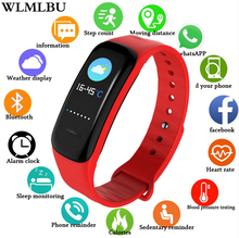 Купить с кэшбэком WLMLBU Women Smart Watch Men Heart Rate Blood Pressure oxygen Sleep Monitor Pedometer Fitness Sport Watches For Men Android IOS