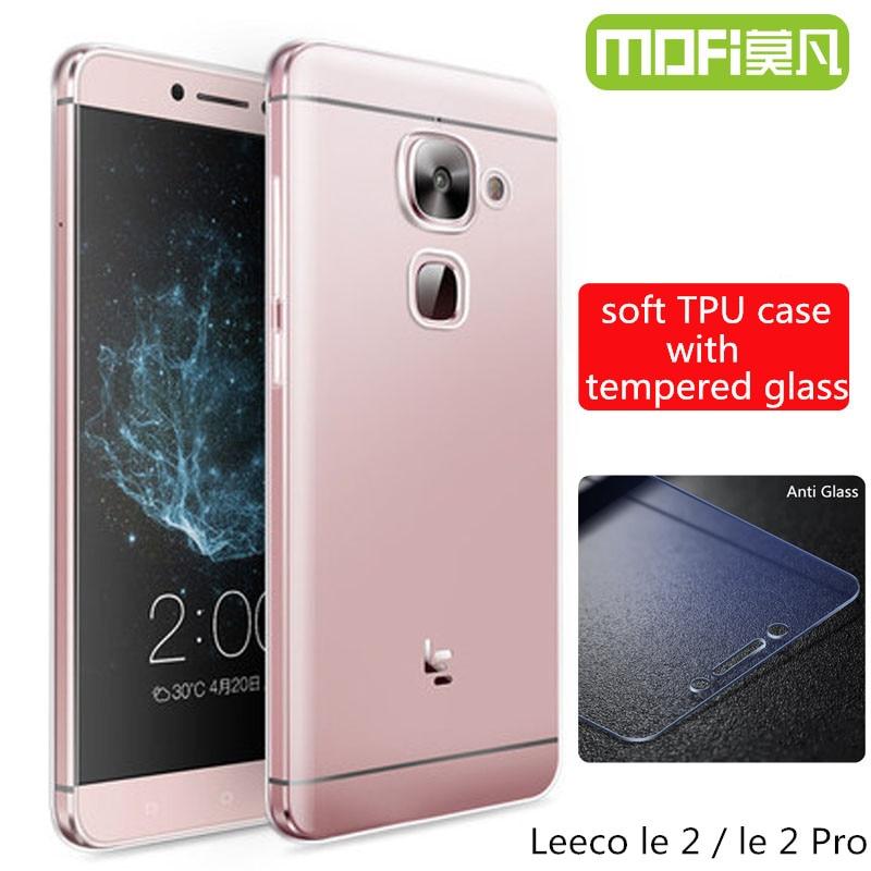 Leeco le S3 x622 glass tempered le eco le2 x527 x620 case silicone back cover letv