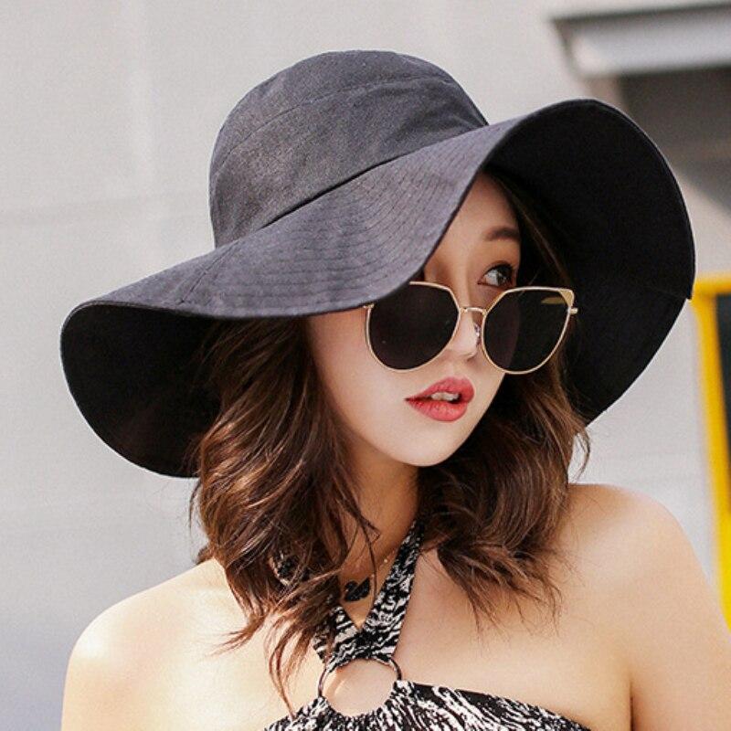Apparel Accessories Generous Top Quality Cotton And Linen Fisherman Hats Women Summer Anti-uv Sun Hats Lady Beach Big Bowknot Pearl Bucket Hat