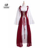 ROLECOS 2016 New Oktoberfest Women Lolita Dresses 4 Color German Beer Party Cosplay Costumes 2 Pcs