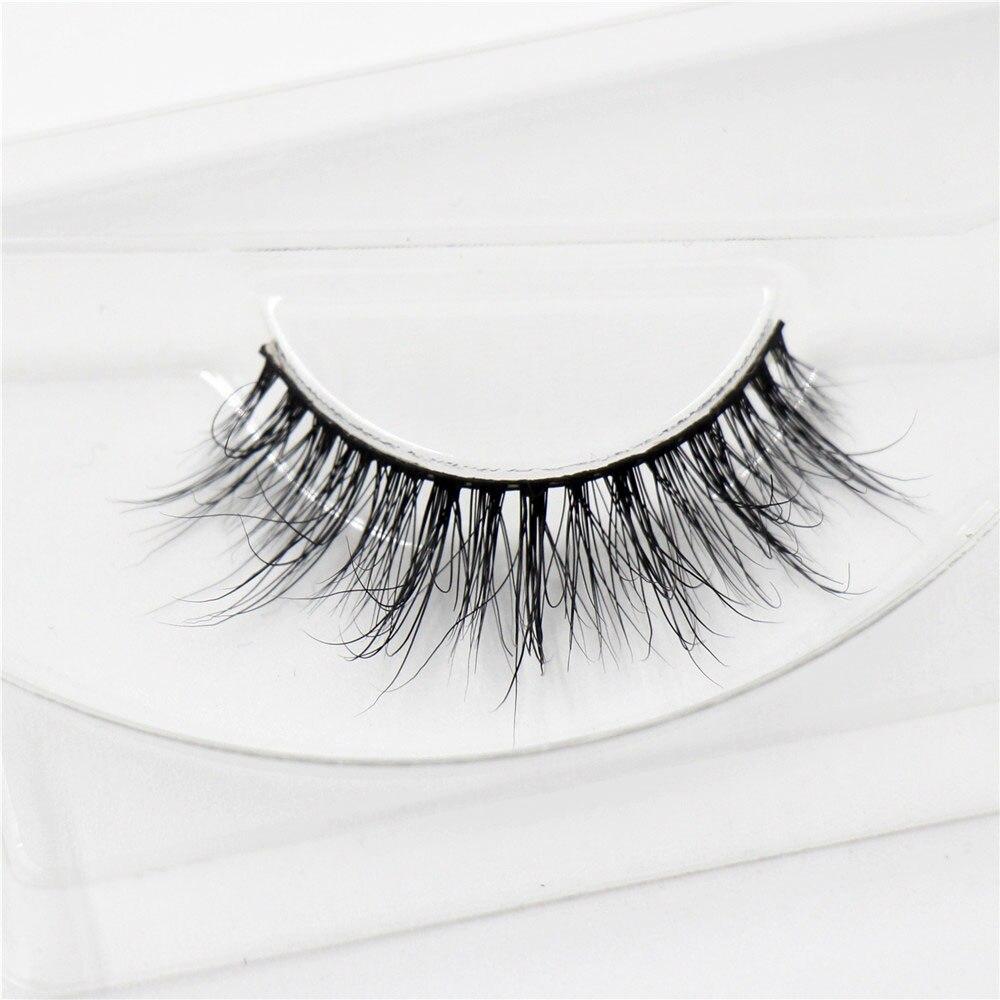 1 паир100% ручно прављена минка крзно - Шминка