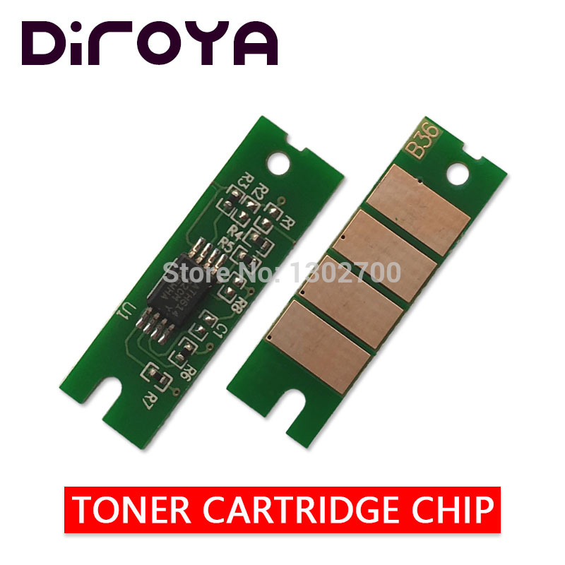 цена на 1.5K-capacity 408010 SP 150HE sp150he Toner Cartridge Chip For Ricoh sp 150 150SU 150w 150SUw sp150su printer power refill reset